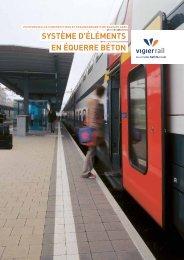 SYSTèME D'éLéMENTS EN éQUERRE BéTON - Vigier-Rail