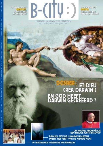 En GOD HEEft Darwin GEcrEëErD - L'Eglise catholique de Bruxelles
