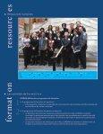 Rapport d'activités 2012 - Apsam - Page 5