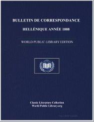 bulletin de correspondance hellénique année 1888 - World eBook ...