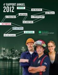 Rapport annuel 2012 - Desjardins | Caisse du Réseau municipal ...