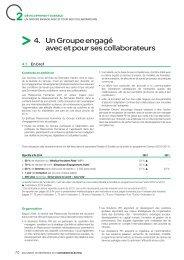 4. Un Groupe engagé avec et pour ses ... - Schneider Electric