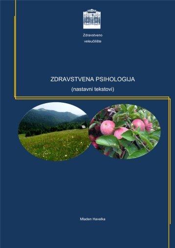 ZDRAVSTVENA PSIHOLOGIJA - Zdravstveno veleu?ili?te Zagreb
