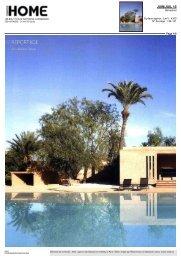 JUIN/JUIL 10 - Hotel Palmeraie Marrakech