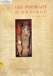 Les portraits d'Antinoé au Musée Guimet