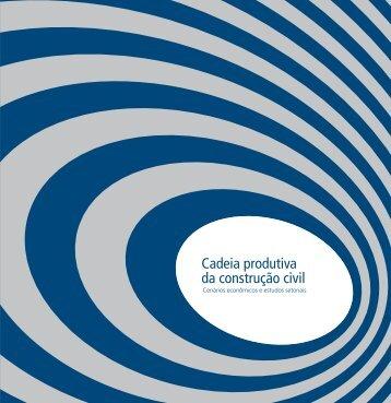 Cadeia produtiva da construção civil - Sebrae | Licitações