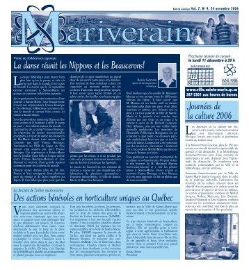 11992_Lien_Mariverain_nov.qxd (Page 1) - Ville de Sainte-Marie