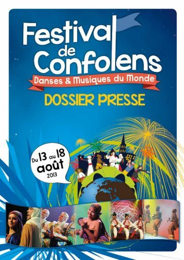 Dossier de Presse Festival de Confolens 2013