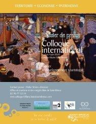 Colloque international - Baie de Saint-Brieuc