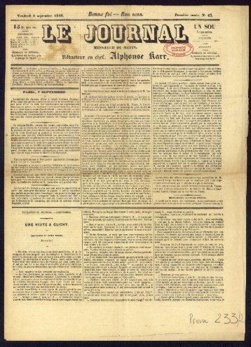 8 septembre 1848, numéro 43 - Archives municipales de Nantes