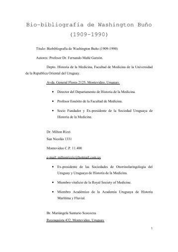 Washington Buño - Sindicato Médico del Uruguay
