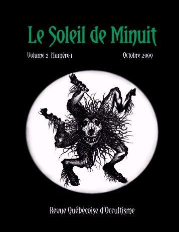 « Qu'est-ce que j'ai entre les mains - Le Soleil de Minuit - MagiQc.net