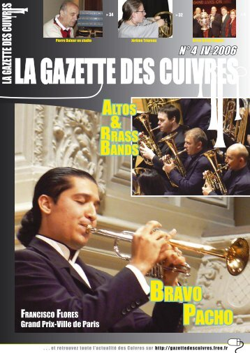 BRAVO PACHO - La Gazette des Cuivres - Free