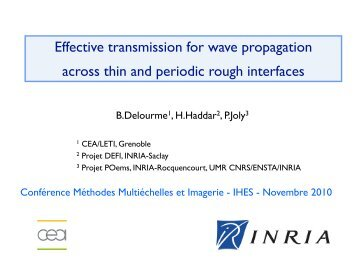 Effective transmission for wave propagation across thin and periodic ...