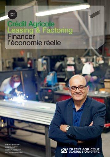 la brochure en pdf. - Crédit Agricole Leasing & Factoring