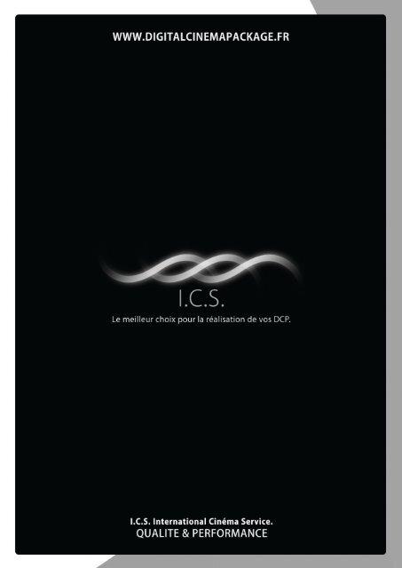 Plaquette ICS – Laboratoire Digital - International Cinema Service