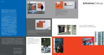 Schreiner magazine for Schreiner coburg