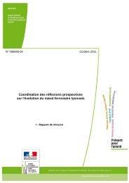 Rapport établi par Marie-Line - Débat public sur la LGV POCL