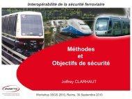 INRETS_Méthodes et Objectifs de sécurité