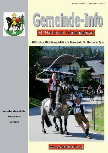 (13,63 MB) - .PDF - Gemeinde St. Martin am Tennengebirge