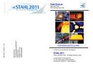 Posterstand STAHL 2011