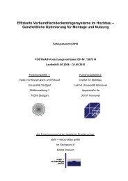 Abschlussbericht des AiF Vorhabens Nr. 15675N Effiziente ...