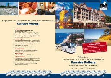 Kurreise Kolberg