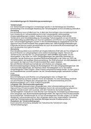 Anmeldeformular Weiterbildungsveranstaltungen (pdf)