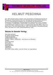HELMUT PESCHINA - THOMAS SESSLER - Verlag