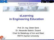 eLearning in Engineering Education