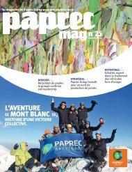 L'AVENTURE « MONT BLANC », - Groupe Paprec