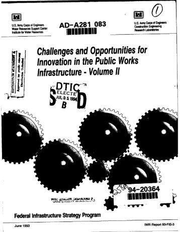 Challenges and Opportunities for Innovation in the Public Works ...