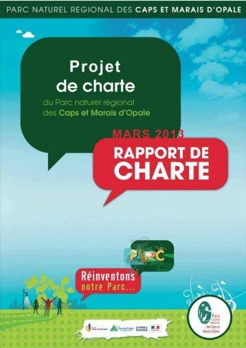 télécharger le Projet de charte - Parc naturel régional des Caps et ...