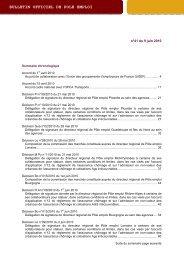 BOPE n°2010-41 du 9 juin 2010 - Pôle emploi
