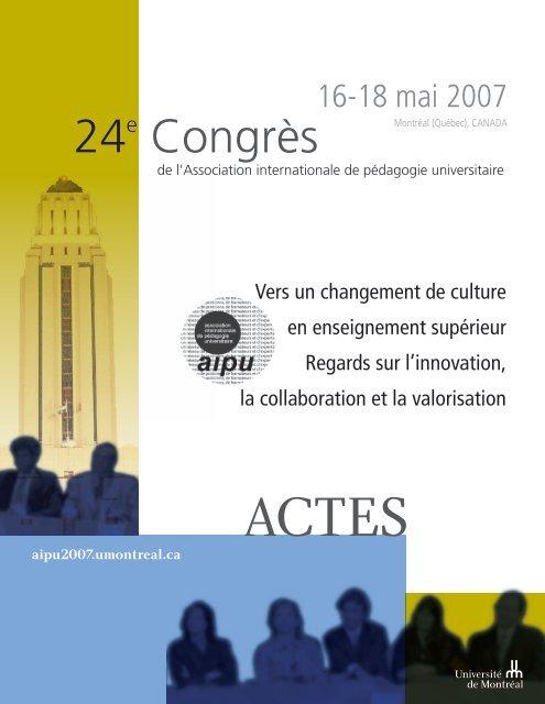 Pour Corriger Les Representations Erronees 24e Congres De L Aipu