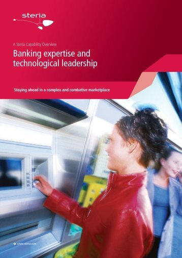 Banking expertise and technological leadership - Steria