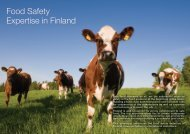 Food Safety Expertise in Finland