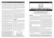 JESUS-CHRIST REVIENT - mcreveil.org