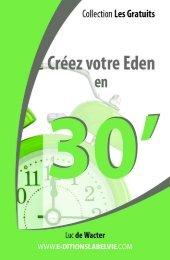 Créez votre Éden en 30 minutes - Livresnumeriquesgratuits.com