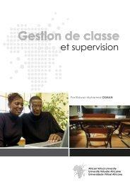 Gestion de Classe et Supervision.pdf - OER@AVU - African Virtual ...