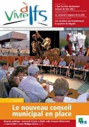 Vivre à Ifs - Juillet 2008 - Ville d'Ifs