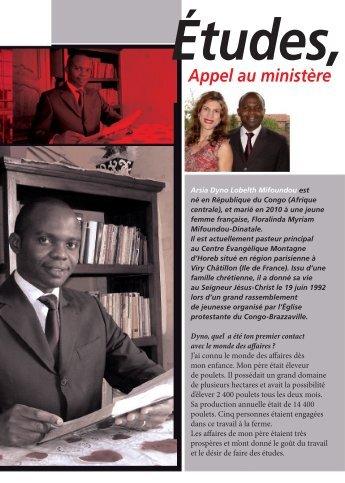 04 . Etudes Et Travail, Appel Au Ministère - ACTE - France