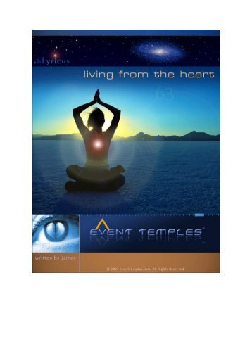 Living from the Heart - Event Temples