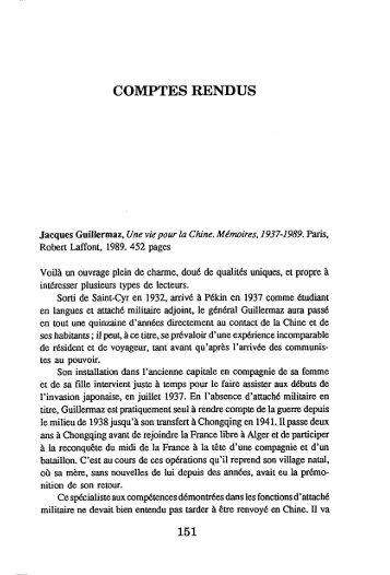 COMPTES RENDUS - AFEC