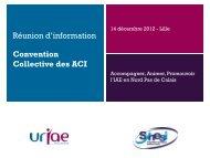 Convention Collective des ACI - URIAE