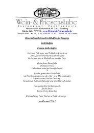 Grillbuffets (PDF) - Friesenstube