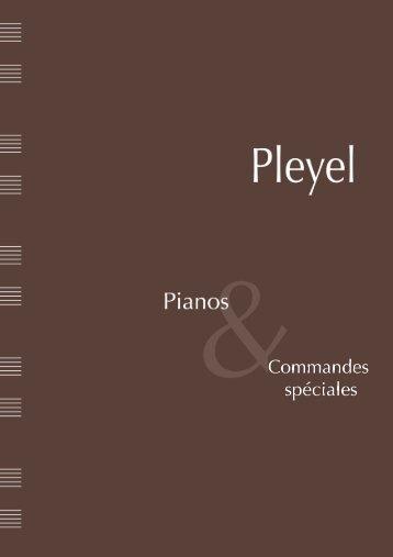 Télécharger le dossier de presse - Pianos Pleyel
