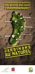 Brochure jardinons au naturel - Ideal79