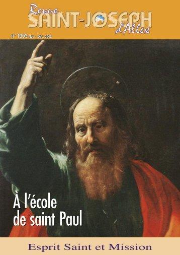 N° 1003 Novembre 2008 - St Joseph d'Allex
