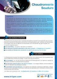 Chaudronnerie Soudure - AFPI-CFAI